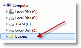 Как подключить облочное хранилище box.net в виде сетевого диска