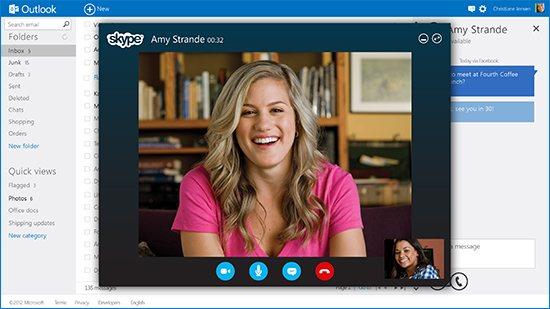 Skype Outlook - фото 6