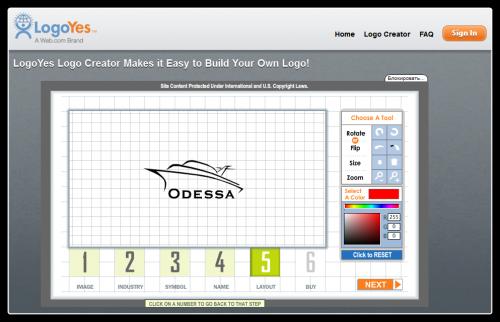 разработка логотипа онлайн: