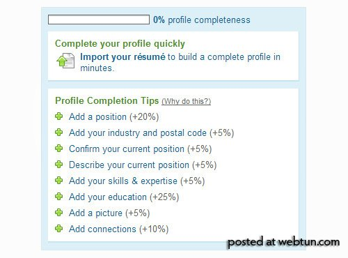 Как сделать свой профайл