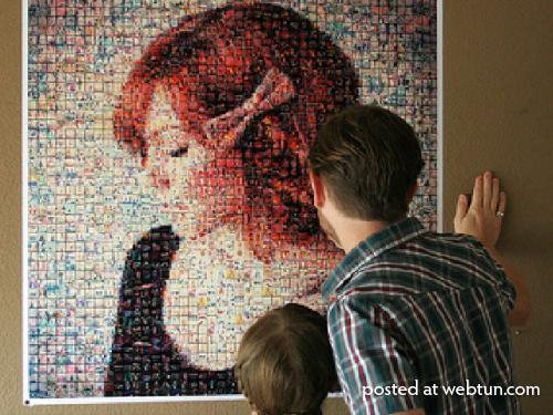 Как сделать мозаику для инстаграм