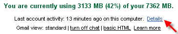 Как удаленно выйти из Gmail?