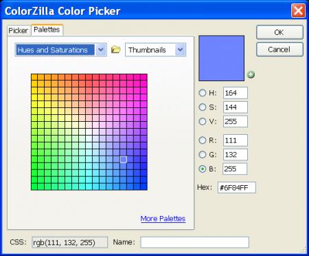 Узнаём цветовой код любой части веб-страниц прямо в Firefox