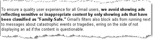 Как убрать Рекламные ссылки в Gmail