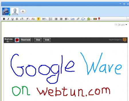 Гаджеты и расширения для Google Wave