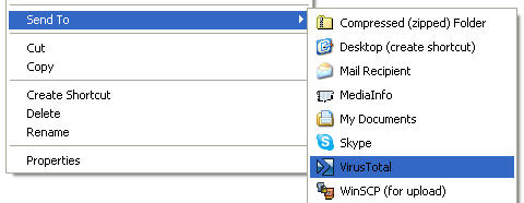 Новый загрузчик для быстрой загрузки файлов на virustotal.com