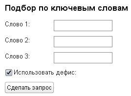 Сервисы для подбора домена