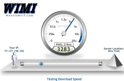 Сервисы для измерения скорости Интернет-соединения