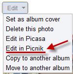 """Альбомы Picasa Web ушли на """"пикник"""""""