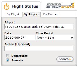 Flight Status — Онлайн-табло аэропортов по всему миру.