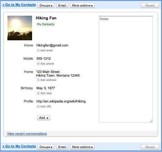 Новое оформление Gmail