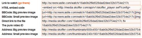 ScreenCastle — запись происходящего на экране
