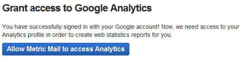 Metric Mail – статистика сайта на эл.почту