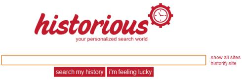 Historious — поисковик по своим закладкам
