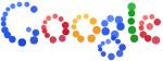 Интерактивное лого Google из цветных шариков