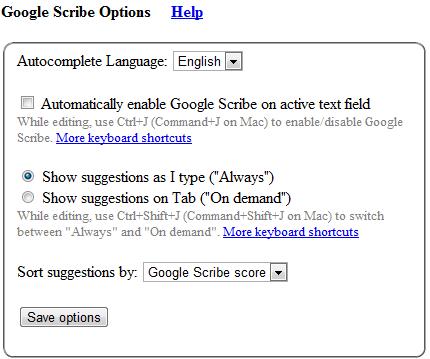 Расширение Google Chrome Scribe
