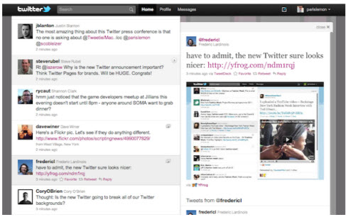 Twitter обновил интерфейс