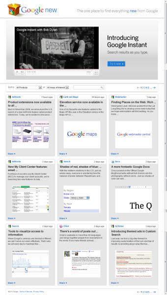 Google New — все новинки от Google