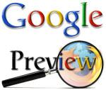 Предпросмотр страниц в результатах поиска Google