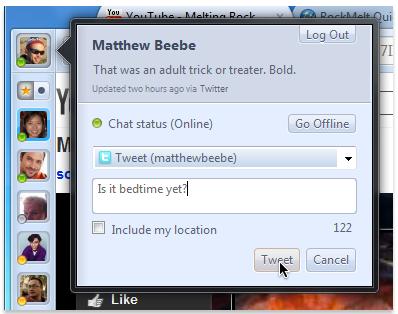Продолжение знакомства с браузером RockMelt