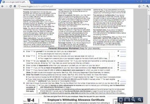 В Chrome интегрирован просмотр PDF документов