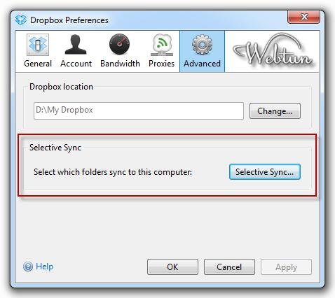 Selective Sync и многое другое в новом Dropbox 1.0.10