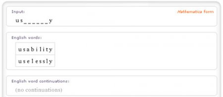 Используем Wolfram Alpha с пользой