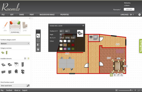 Roomle — онлайн сервис для планирования квартиры