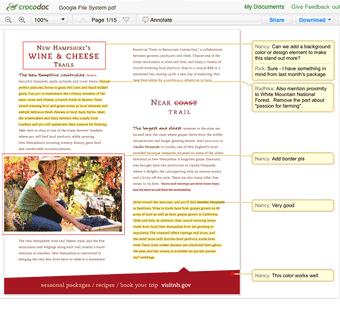 Crocodoc — удобный сервис комментирование PDF-файлов