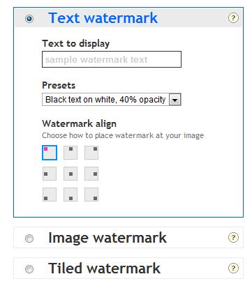 PicMarkr - легкий способ наложить водяной знак на картинку