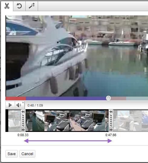 Youtube Видеоредактор - это круто! Добавлен стабилизатор изображений.