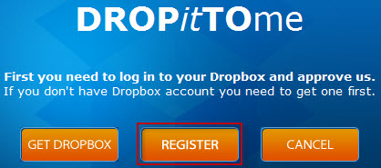 DropItToMe - сервис для загрузки файлов в Dropbox