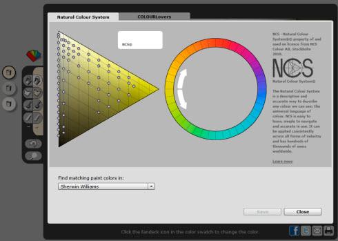 ColorJive - Подберите цвет для своей комнаты