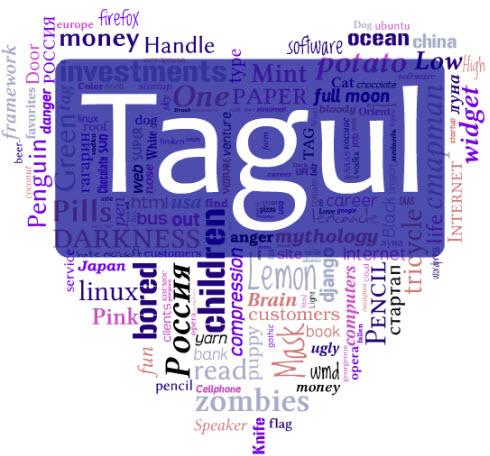Tagul — Создайте красивое облака тегов для вашего блога или сайта