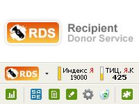 RDS bar — расширение для быстрого анализа показателей сайта