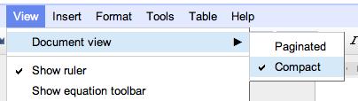 В Google Docs появились разбиение на страницы и встроенная печать