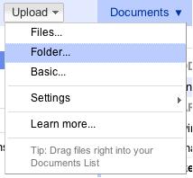 � Google Docs ��������� ����������� � ������� ������ ������� � Drag&Drop