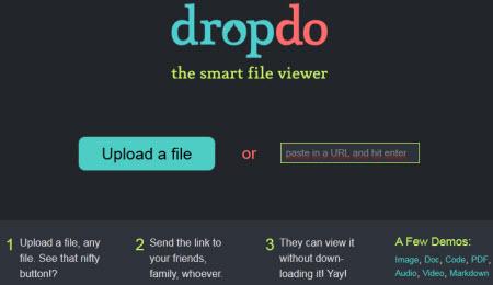 Dropdo — умный просмотрщик файлов