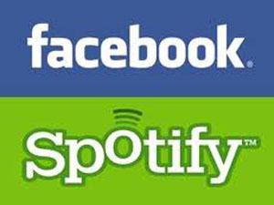 Сервис Spotify будет интегрирован в Facebook