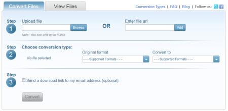 DocsPal — Бесплатные онлайн конвертер файлов
