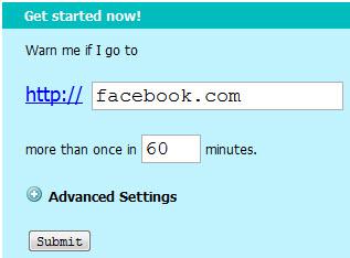 KeepMeOut: Сохранит время потраченное в интернете