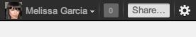 Навигационная строка/панель Google+