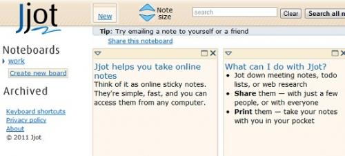 Подборка он-лайн приложений для создания заметок