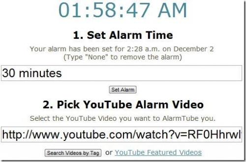Подборка бесплатных он-лайн будильников