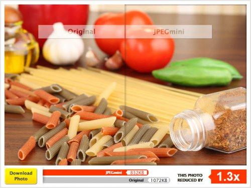 JPEGmini — сервис для сжатия jpeg файлов