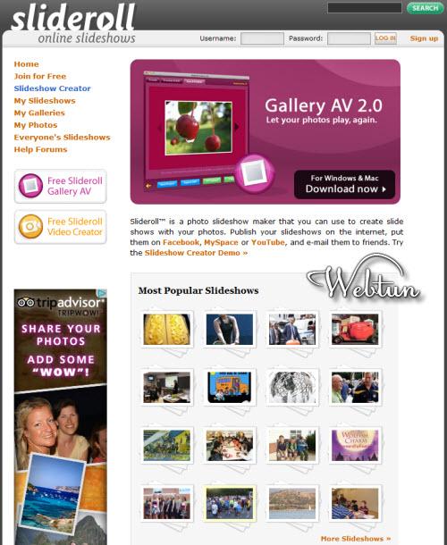Подборка бесплатных сервисов по созданию и онлайн-редакторов слайд-шоу