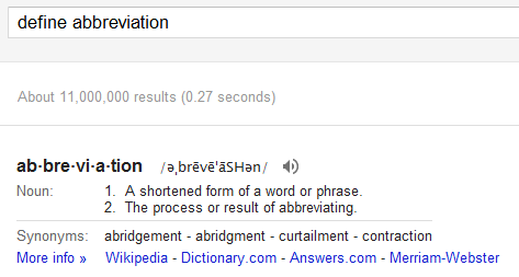 Google обновил словарный OneBox