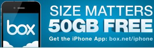 Пользователи IPad и iPhone могут получить 50 Гб бесплатно на Box.net.
