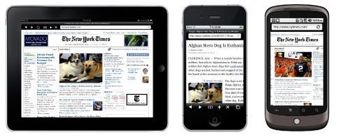 Альтернативные браузеры для iOS