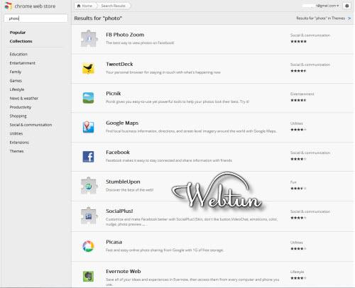 Chrome Web Store обзавёлся новым интерфейсом